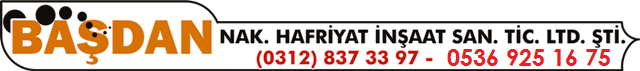basdan hafriyat cubuk logo